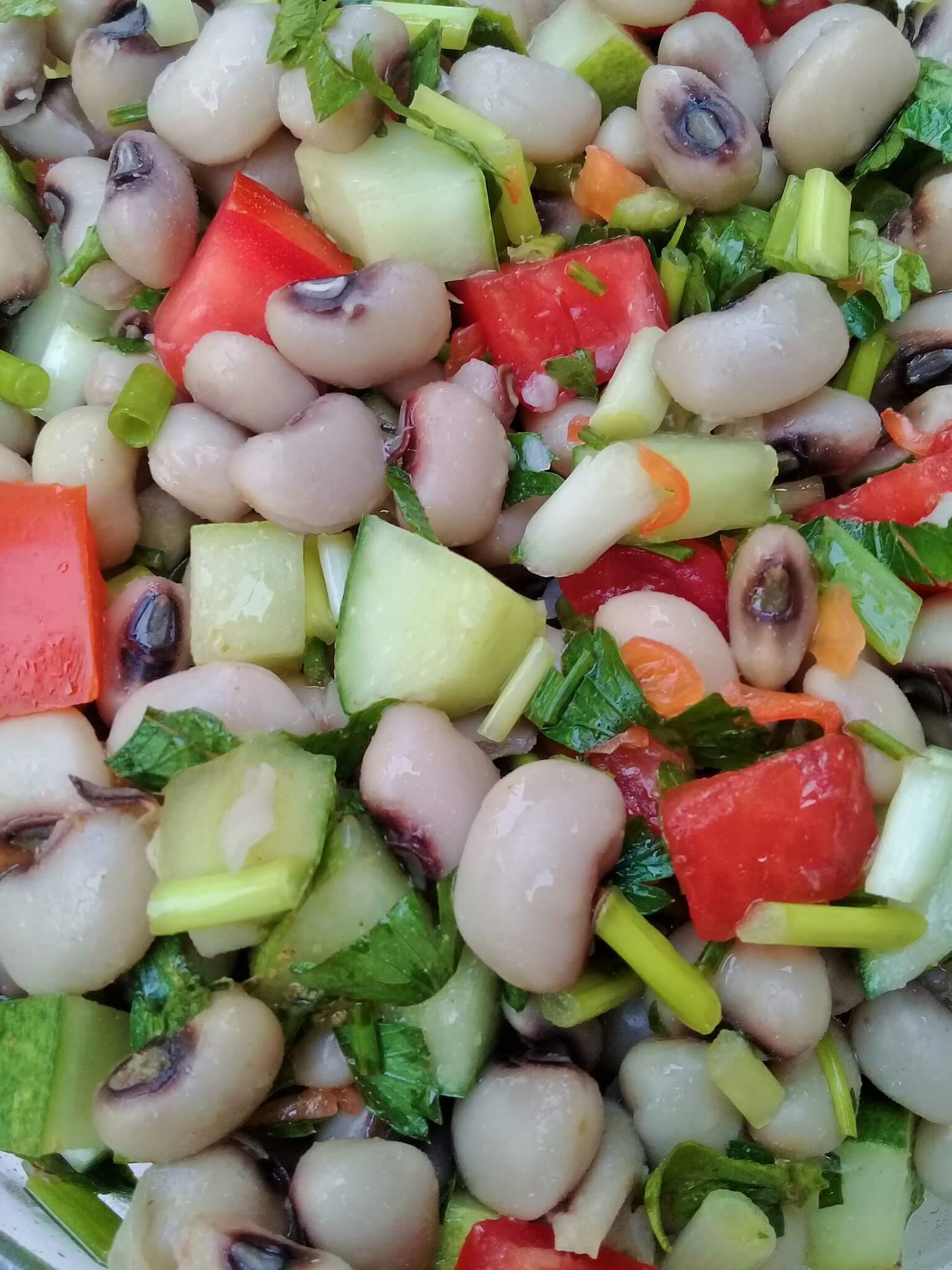 Senegal's black-eyed pea salad | Saladu Ñebbe