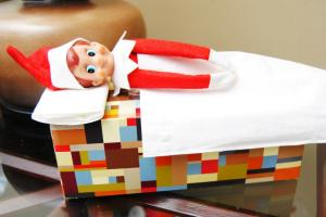 3 - Sleeping on tissue box