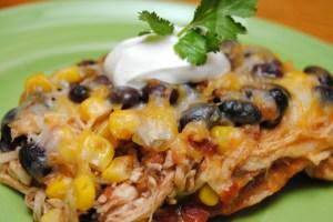 10 Mexican lasagna