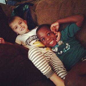 Brogan and Nathaniel