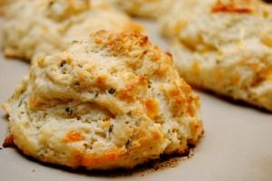 Garlic cheddar biscuits6