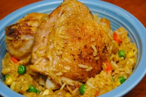 Chicken and rice7