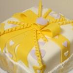 Gift Wrapped Fondant Cake