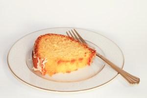 Slice of Amaretto Cake