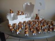 Conjunto kit com lembrança - Ursinho