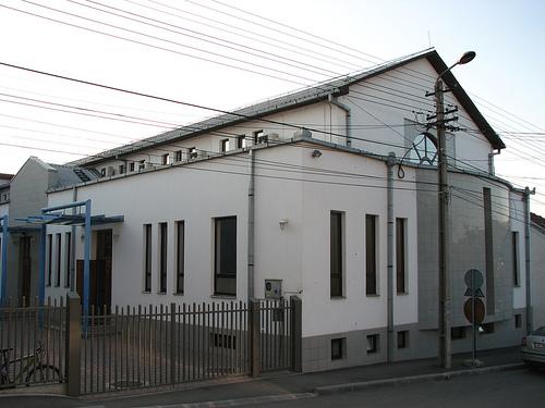 Clădirea principală a bisericii