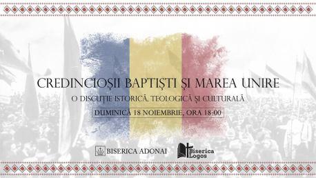 Credincioșii baptiști și Marea Unire de la 1918