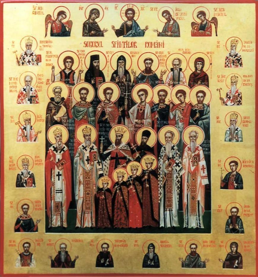 soborul sfintilor romani
