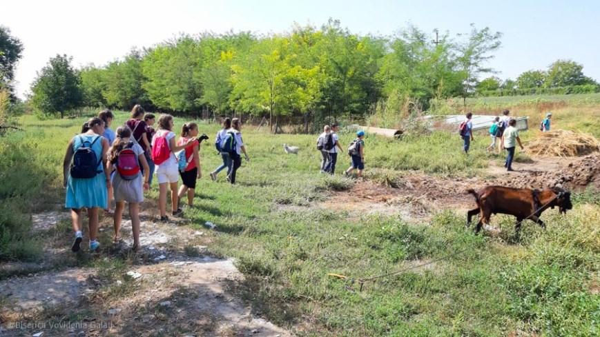 Pelerinajul copiilor la Cudalbi