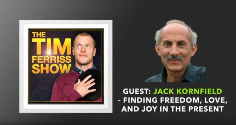 Podcast artwork from Jack Kornfield on The Tim Ferriss Show
