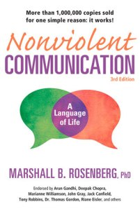 Front cover of Non-violent Communication by Marshall Rosenberg