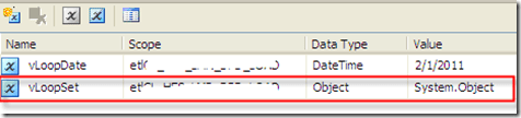 "SSIS - ""Full result set"" to a set variable of Object (5/6)"
