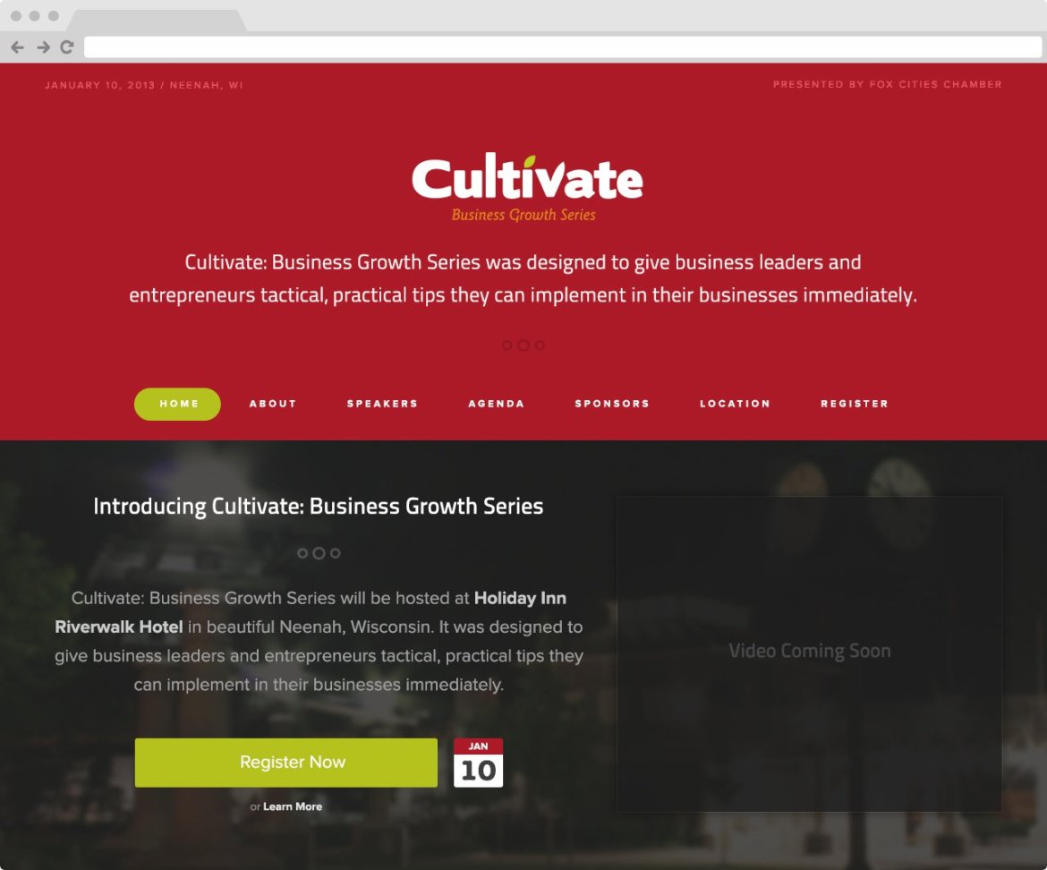 Cultivate - Home