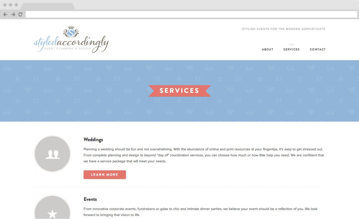 Styled Accordingly - Services Page