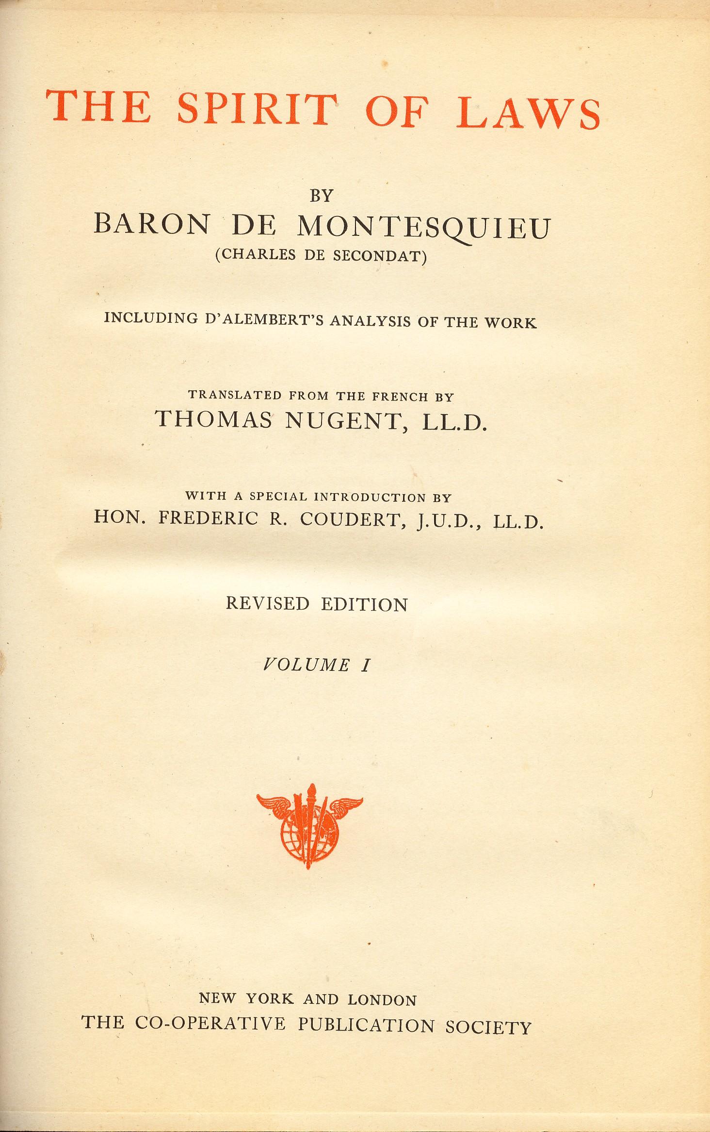 Billsrevolutionper3 Montesquieu
