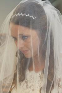 close up bride wedding photograpy