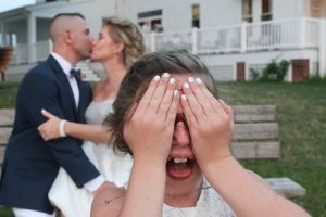 cute kids wedding photography reception formals