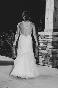 black and white wedding photography Elyria Ohio