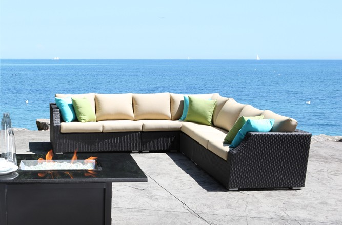 Cabana coast outdoor patio furniture sets by actiwin for Outdoor cabana furniture