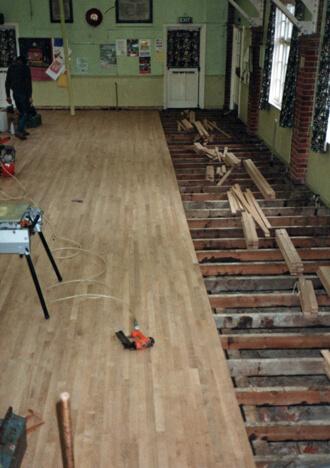 Strip Floor Installations East Sussex