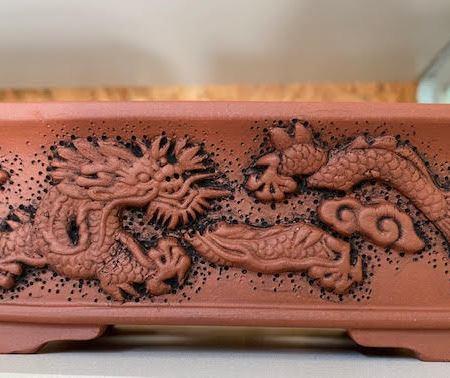 Dragon Bonsai Pot