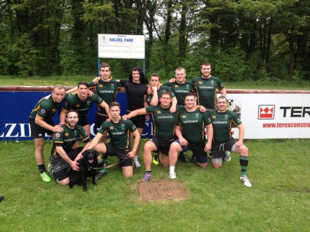 Bishopton Win Bowl at Dalziel 7's