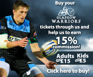 Buy Glasgow Warriors Tickets