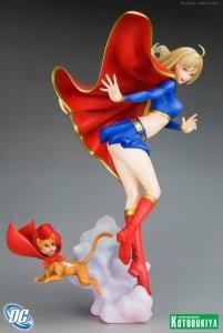 DC Comics Supergirl Bishoujo Statue Kotobukiya