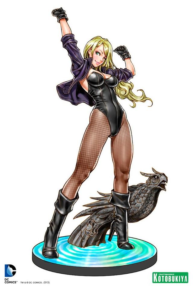 black-canary-bishoujo-statue-illustration-dc-comics-kotobukiya-Shunya-Yamashita