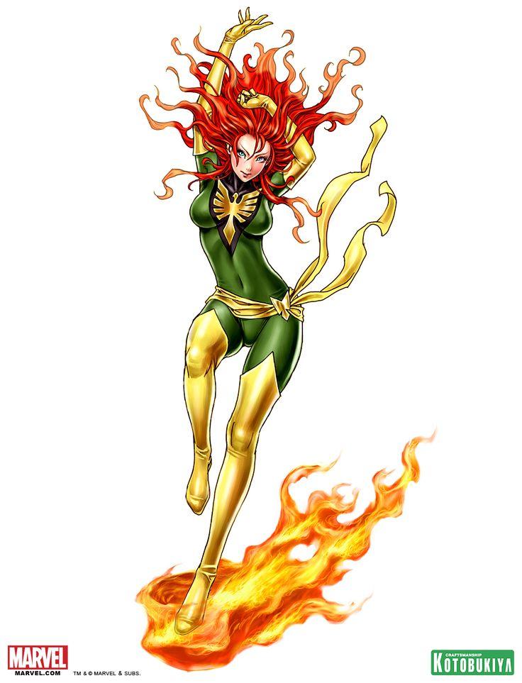 phoenix-bishoujo-statue-illustration-marvel-kotobukiya-Shunya-Yamashita