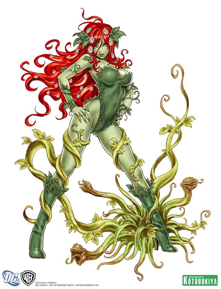 poison-ivy-bishoujo-statue-illustration-dc-comics-kotobukiya-Shunya-Yamashita