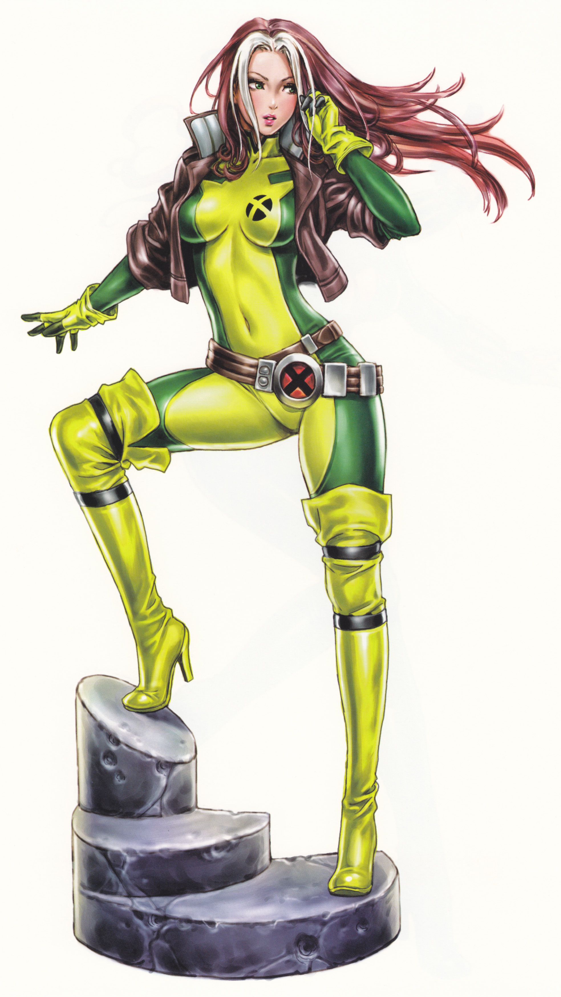 rogue-bishoujo-statue-illustration-marvel-kotobukiya-Shunya-Yamashita