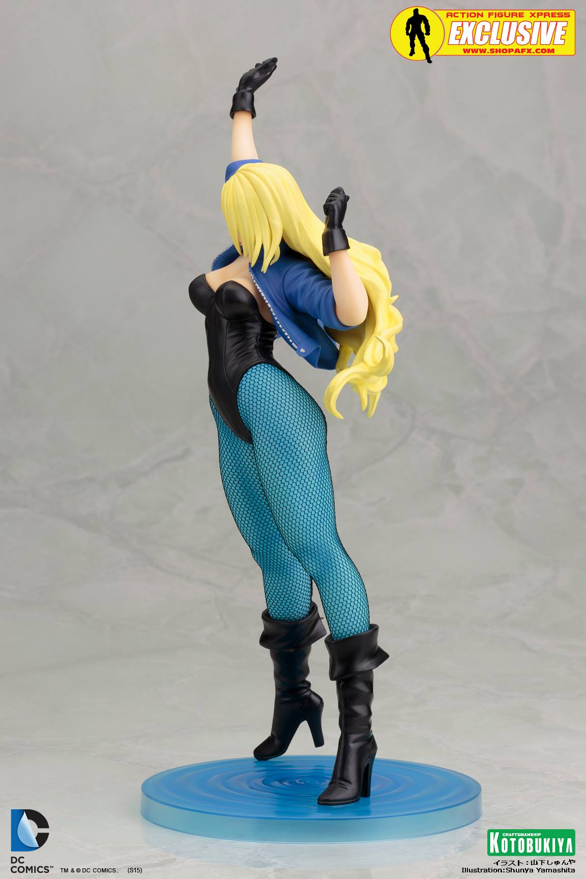 black-canary-classic-costume-bishoujo-statue-exclusive-dc-comics-kotobukiya-4