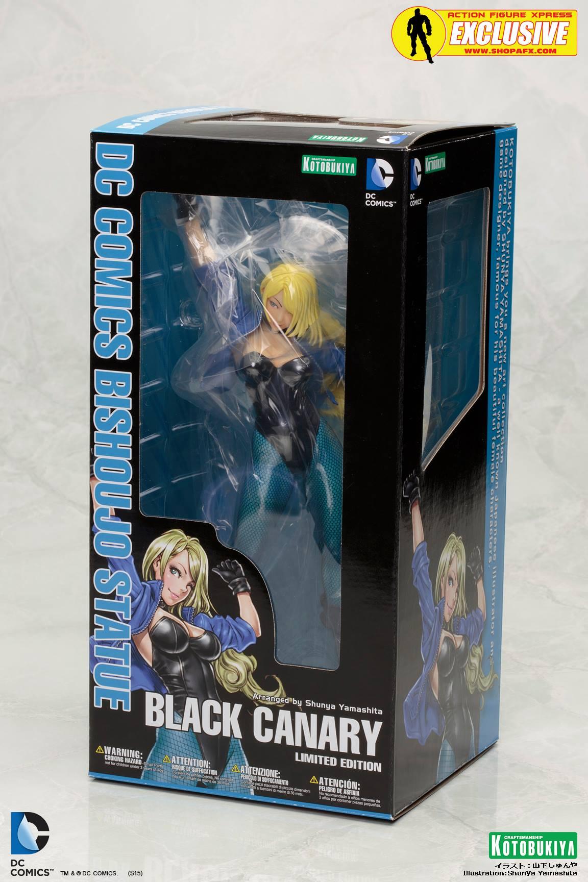 black-canary-classic-costume-bishoujo-statue-exclusive-dc-comics-kotobukiya-5