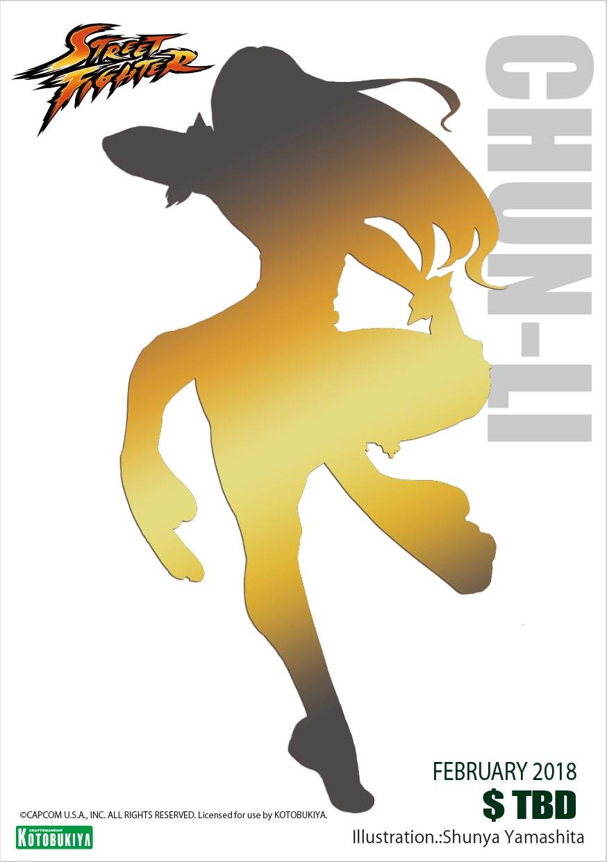 Chun-Li Battle Costume Bishoujo Illustration Sneak Peek Shunya Yamashita Kotobukiya