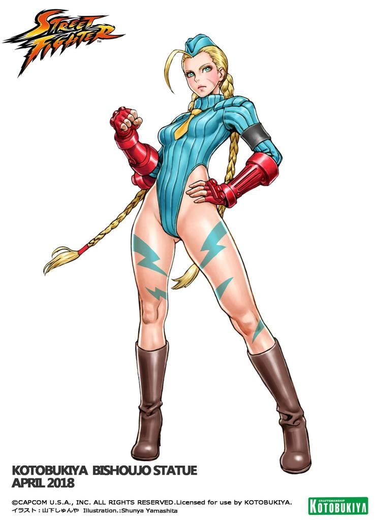 Street Fighter Cammy Version 2 Bishoujo Illustration Shunya Yamashita Kotobukiya
