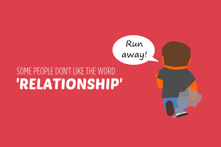 BISH guide to relationships some people don't like the word