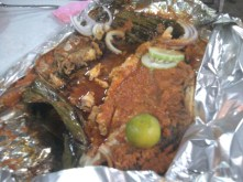 European-style grilled fish.