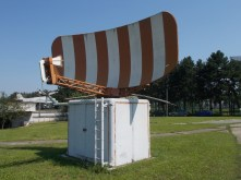Radar system used at the Belgrade airport until 1989.