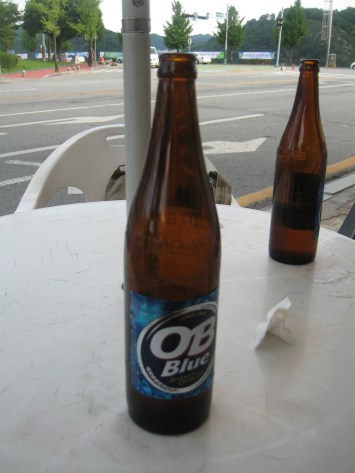 My favourite Korean beer - OB.