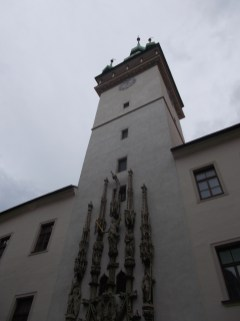 The old town hall in Brno.
