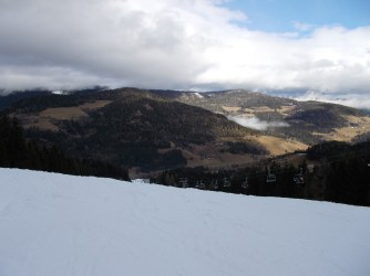 No natural snow below 1.500m in mid-January. Disaster.