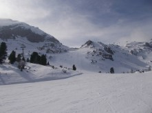Tauernskitag at Obertauern in late March. Perfect weather.