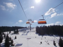 The newest chairlift at Stuhleck - Weißenelfbahn.