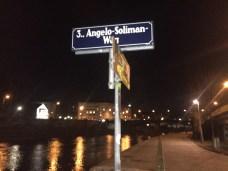 Angelo-Soliman-Weg: Along Donaukanal