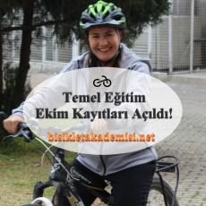 Bisiklet Temel Eğitimi Ekim Kayıtları Açıldı!