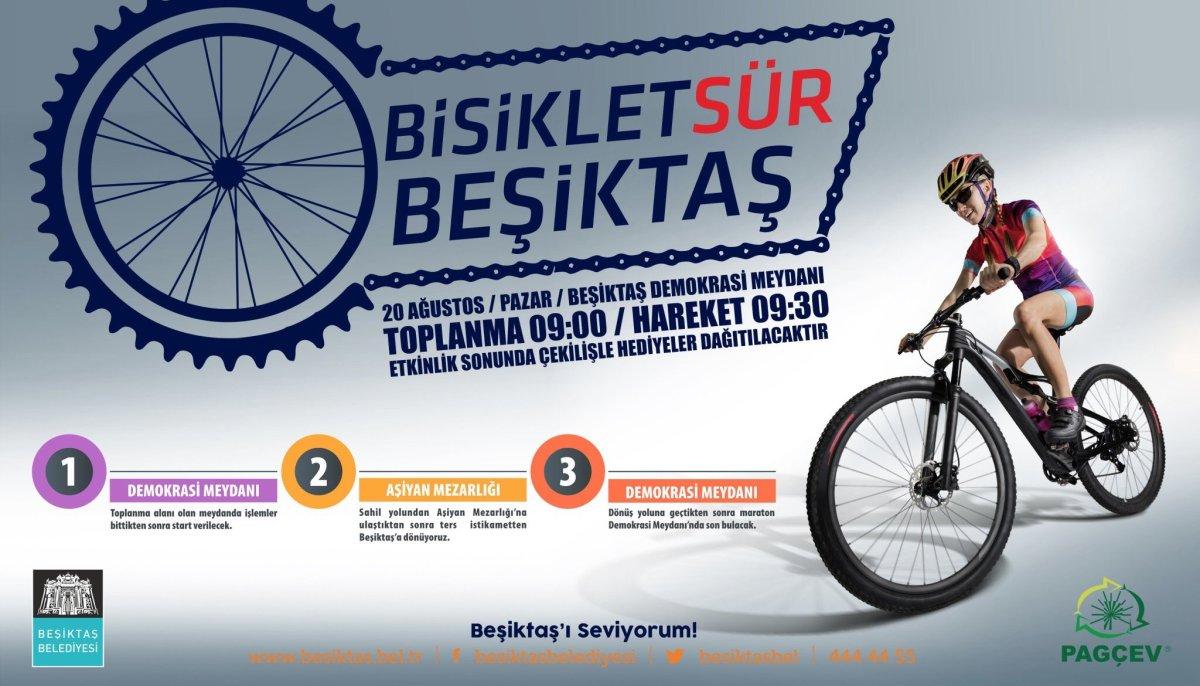 Beşiktaş Bisiklet Sürmeye Nasıl Başlar?
