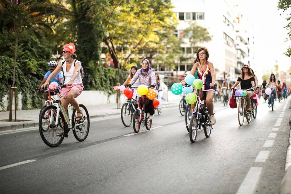 Süslü Kadınlar Bisiklet Turu - 2017