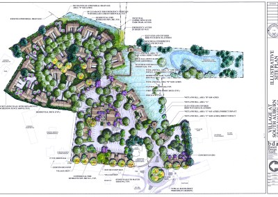 Village at South Auburn – a mixed-use conservation project