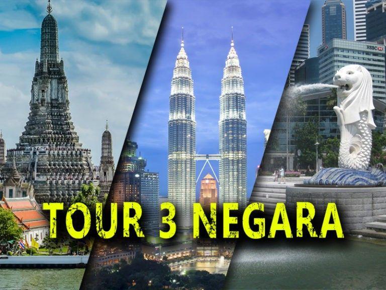 Tour 3 negara lebaran 2020 dari Padang